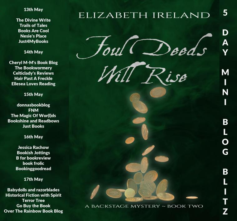 Foul Deeds Will Rise Full Tour Banner