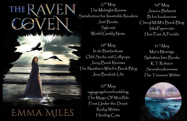The Raven Coven Full Tour Banner