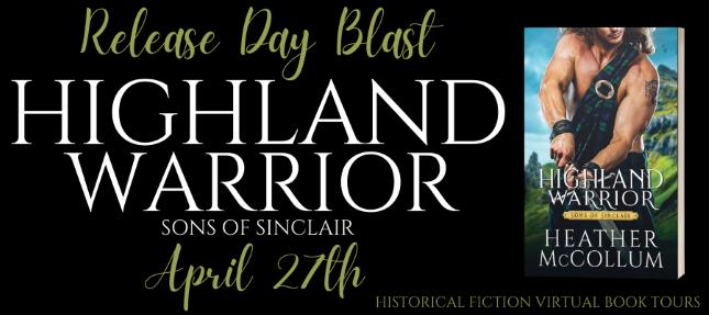 #BOOKBLAST   Highland Warrior – Heather McCollum @HMcCollumAuthor @entangledpub @hfvbt #HighlandWarrior #HeatherMcCollum #HFVBTBlogTours #amreading#bookblogger