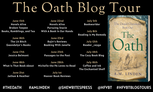 #BLOGTOUR   The Oath – A.M. Linden @shewritespress@hfvbt #TheOath #AMLinden #HFVBTBlogTours #amreading #bookblogger#bookreview