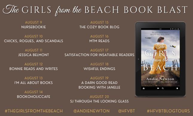 #BOOKBLAST   The Girls From The Beach – Andie Newton @AndieNewton @Aria_Fiction @hfvbt #amreading #bookblogger #TheGirlsfromtheBeach #AndieNewton#HFVBTBlogTours