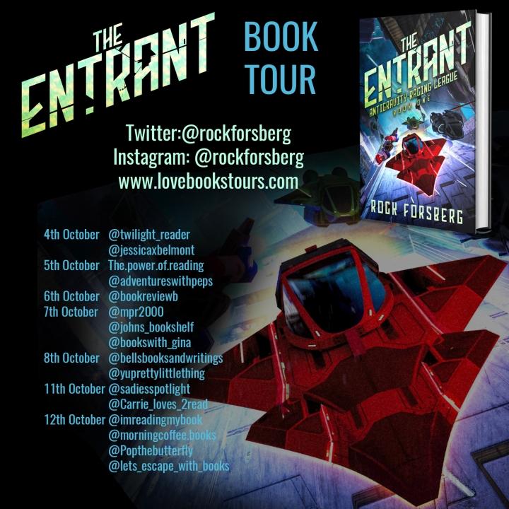 #BOOKTOUR | The Entrant – Rock Fosberg @rockforsberg @lovebooksgroup @lovebookstours#amreading #bookreview#bookblogger